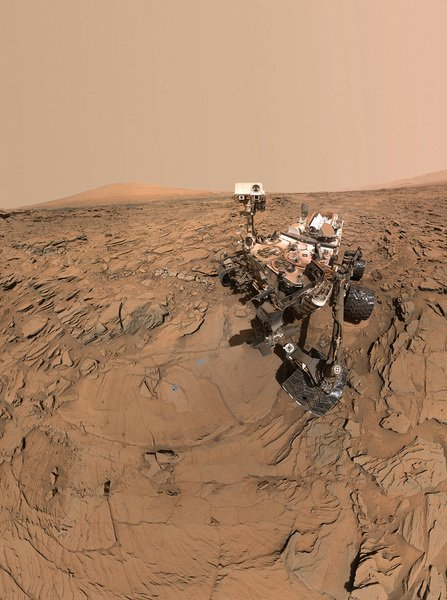 NASA科學家從家裏控制火星車