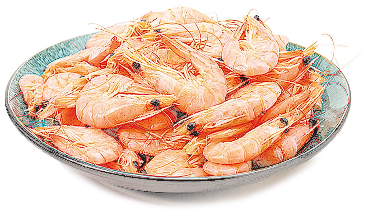 帶殼冷凍蝦的品質很好,多是捕撈後就立即冷凍。