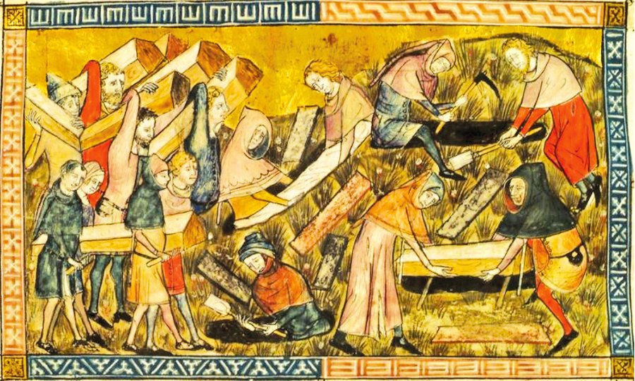 歷史上的瘟疫 「上帝之鞭」:歐洲黑死病(上)