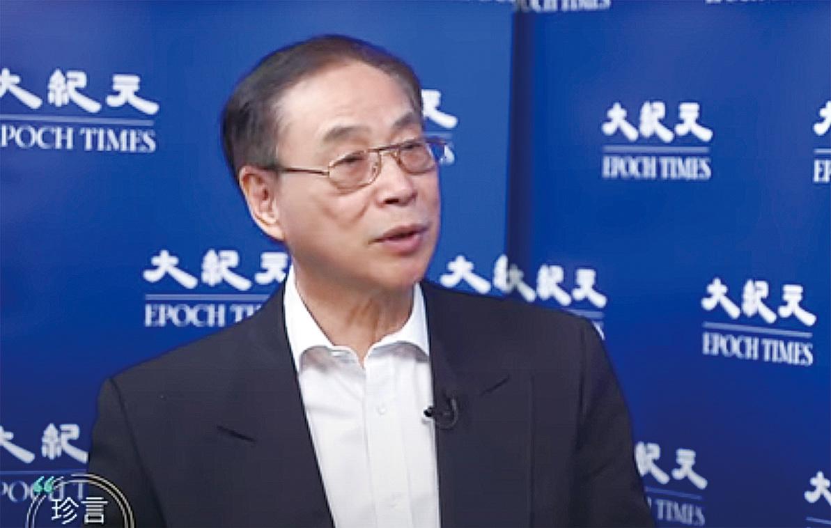 前香港立法會議員薛浩然。(採訪影片截圖)
