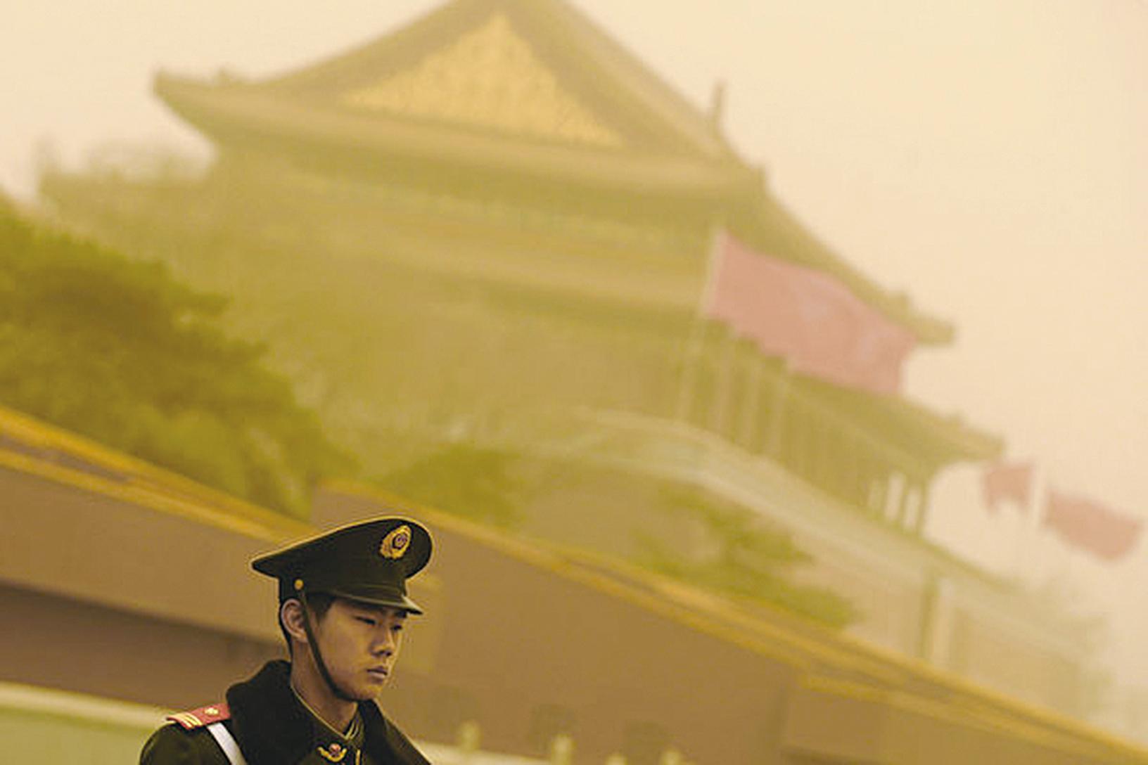 北京戰狼式四處出擊,美近日六大動作指向中共。 圖為資料圖。(LIU JIN/AFP)