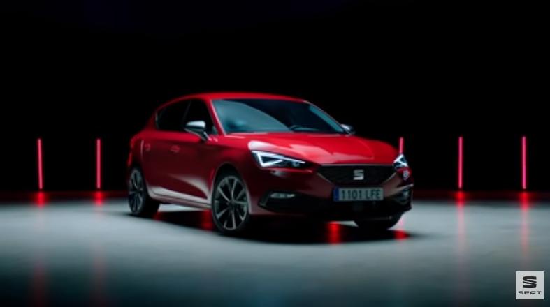 德國大眾汽車旗下品牌、西班牙車企西亞特(Seat)改變原計劃,決定不進入中國市場,並因此決定退出大眾集團的一個研發項目。圖為SEAT Leon示意圖。(影片截圖)