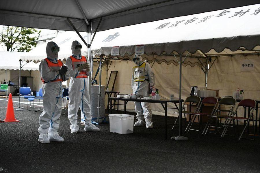 日本首例 警官感染中共肺炎死亡