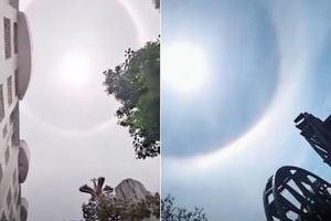 【現場影片】經歷乾旱冰雹後 雲南又現日暈