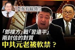 【有冇搞錯】『鄧樸方』戰『習遠平』 兩封信的對質 中共元老被軟禁?