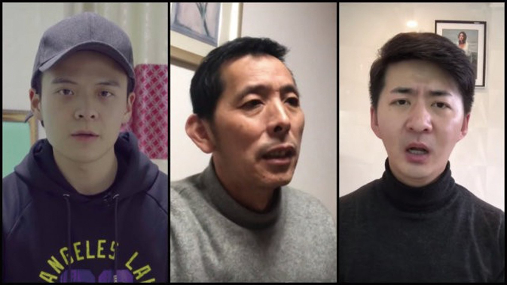 至今渺無音信的三位中國公民( 左起):李澤華、方斌、陳秋實。照片來源:《寒冬》雜誌