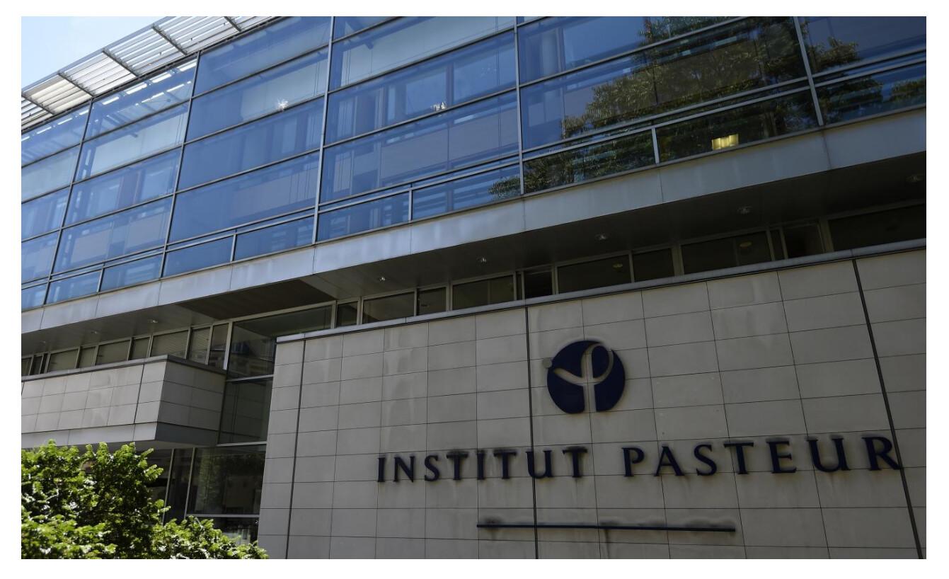 法國巴斯德研究所(Institut Pasteur)。(網絡截圖)