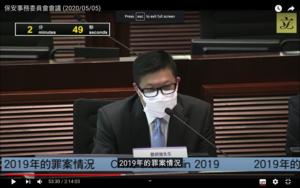 「為政治紅利煽動年輕人犯法」 鄧炳強被彈在立會胡說八道