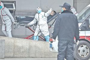 武漢中共病毒住院人數太離奇