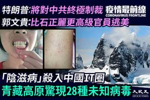【5.6疫情最前線】「陰滋病」殺入中國IT圈 青藏高原驚現28種未知病毒