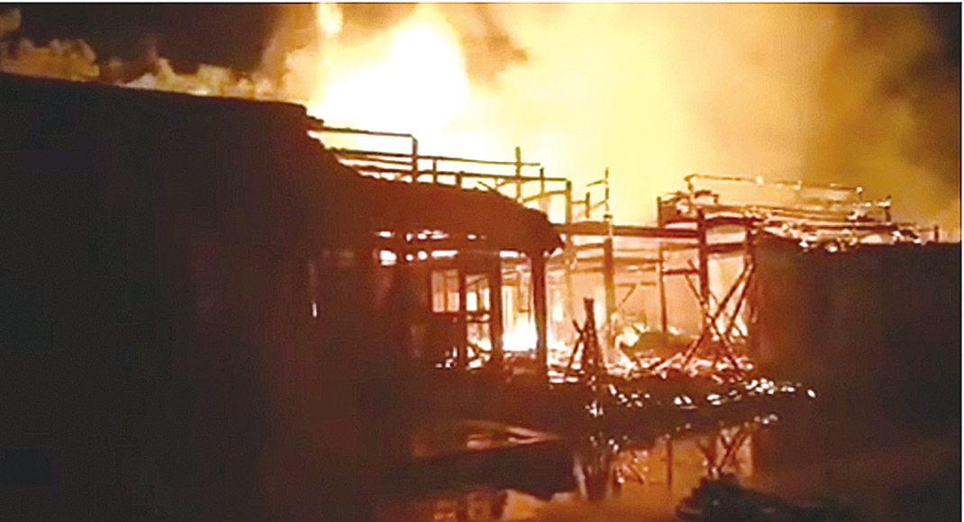 建於清康熙年間 溫州司馬第大屋著火