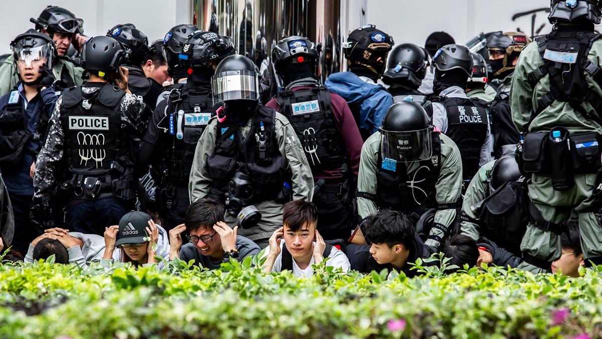 因擔憂警察暴力和司法不公,有近50名港人,正在加拿大尋求難民庇護。示意圖 (ISAAC LAWRENCE/AFP via Getty Images)