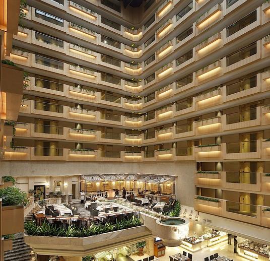 警方最新醜聞發生在尖沙咀帝苑酒店。( 帝苑酒店網頁)