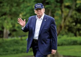 捍衛國安 特朗普否決削弱總統戰爭權決議案