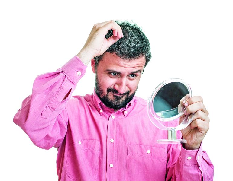 頭皮老化易白髮 濫用染髮劑恐傷頭皮 胜肽「黑諾基」有效激黑毛髮
