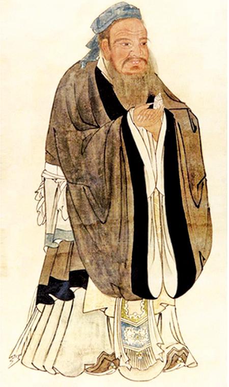 孔子聖蹟圖(明‧仇英)(維基百科)