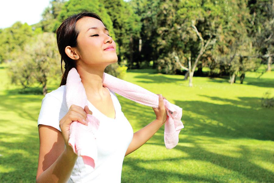 善用腹式呼吸  讓身體釋放輕鬆荷爾蒙