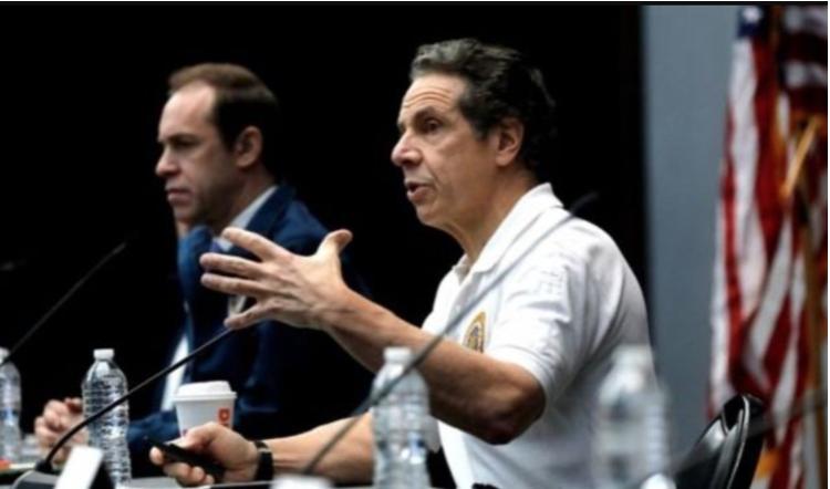 紐約州長對封鎖措施表達憂慮。(影片截圖)