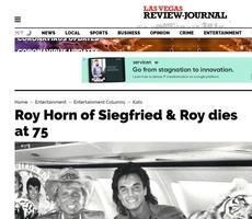 美國著名魔術師羅伊霍恩死於中共病毒