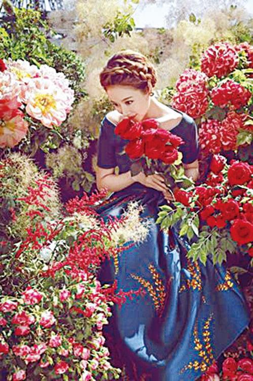 林心如形容「等待愛情是未知的美好」。(林心如Facebook)