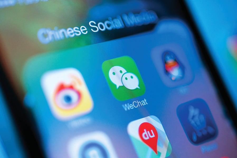 報告:微信國際用戶受政治監控