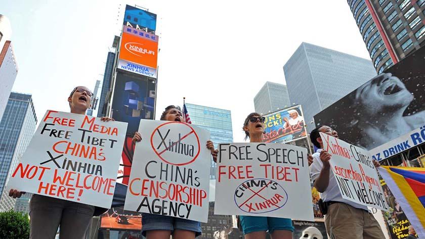 媒體戰再續 美國收緊中國記者簽證