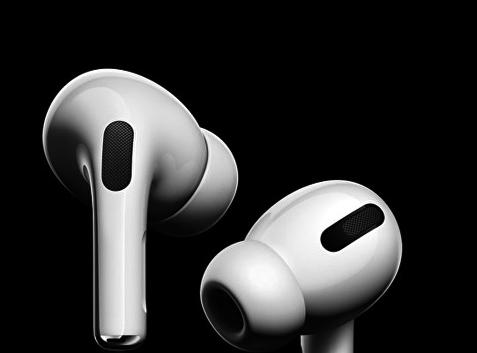 傳蘋果公司將把AirPods30%的產量移出中國大陸。圖為蘋果新無線耳機AirPods Pro。(蘋果提供)