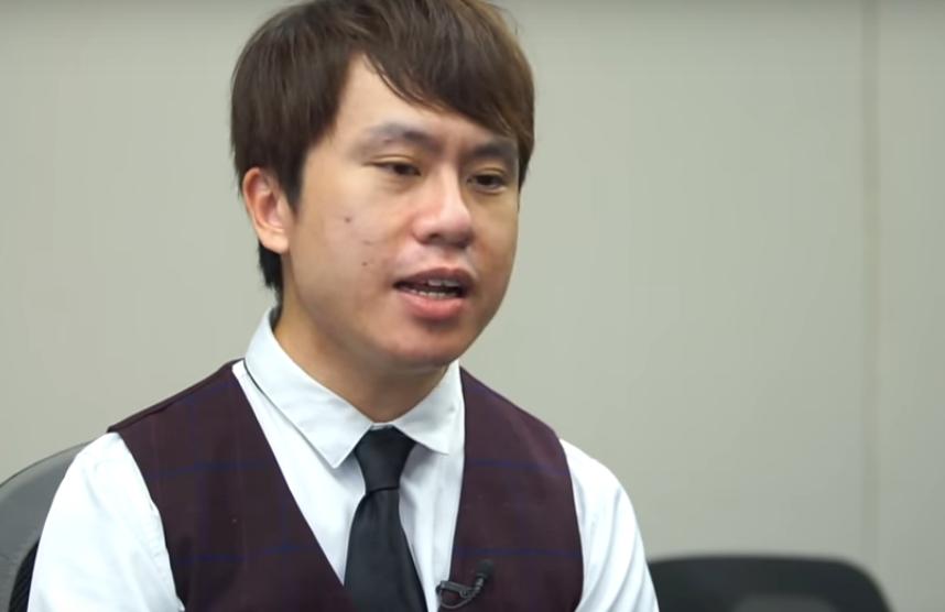 立法會議員鄺俊宇。(採訪影片截圖)
