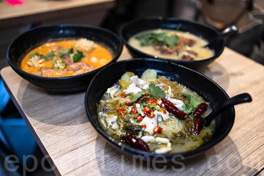 香港是一個國際化的大都市,「開餐」的菜式設計也有具有各地風味。(陳仲明/大紀元)
