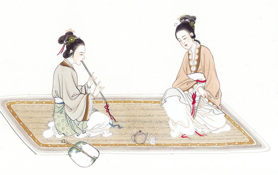 中國古代的琴與簫