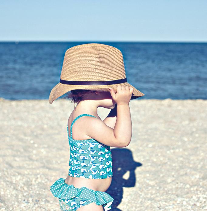寶寶外出 夏日注意防曬
