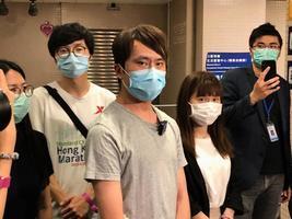 拒絕保釋 鄺俊宇獲無條件釋放 將準時出席元朗區議會問責鄧炳強