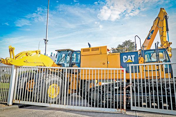 美國重型機械製造商卡特彼勒的一家工廠。(Getty Images)