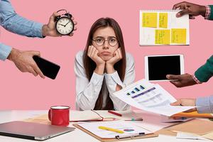 工作多一點還是少一點?