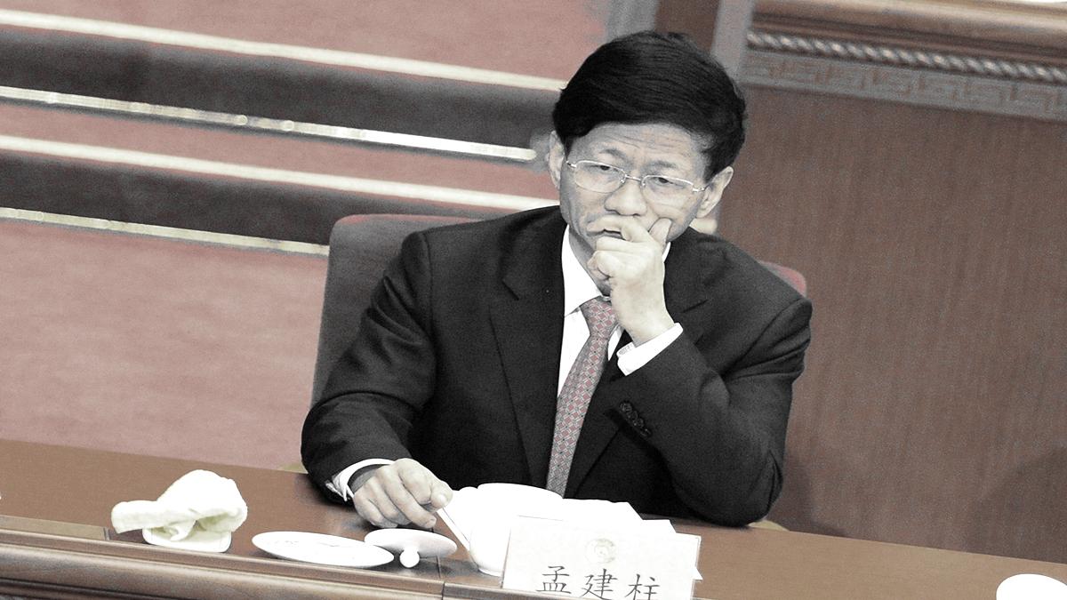 有消息稱,前政法委書記孟建柱3日被抓,是被中央警衛團政委鄒石龍帶走的,孟在上海的房產全被抄。(WANG ZHAO/AFP via Getty Images)