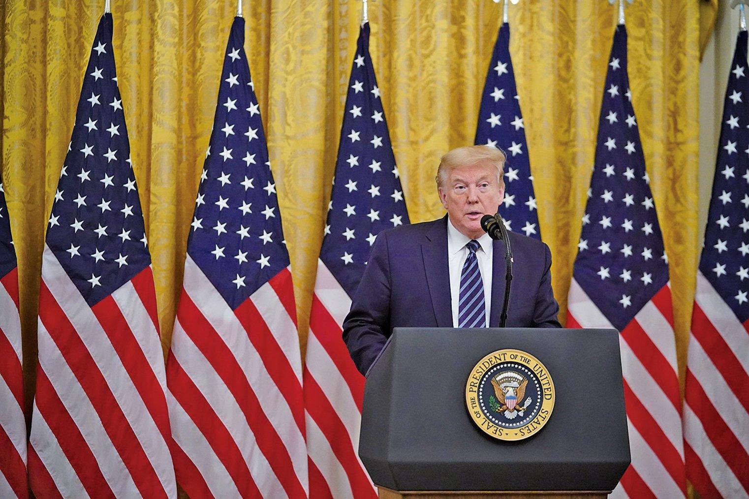 霍士商業新聞(FOX Business)獲悉,特朗普總統正在切斷美國聯邦退休基金和中國股票之間的投資關係,且此舉和特朗普政府不滿中共處理病毒疫情方式有關。(AFP)