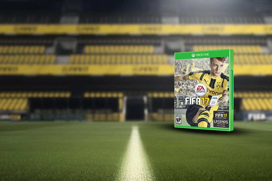 馬高列奧斯當選《FIFA 17》封面人物
