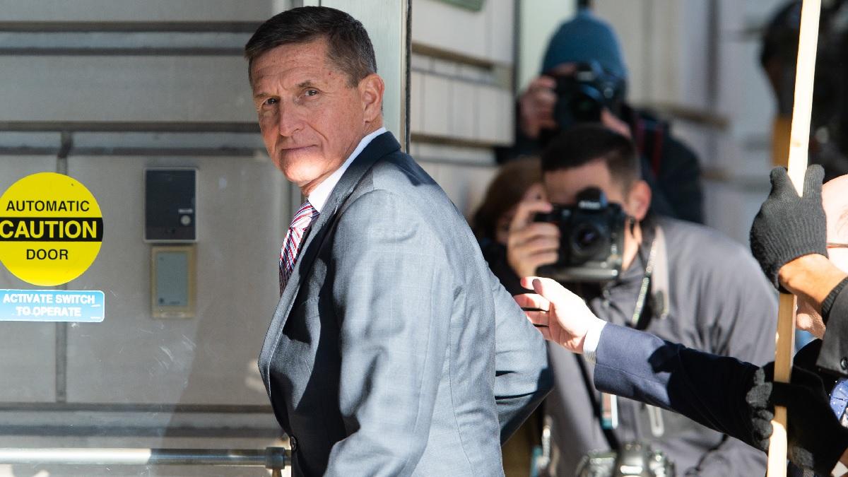 前白宮國家安全顧問邁克爾‧弗林(Michael Flynn)。(SAUL LOEB/AFP via Getty Images)
