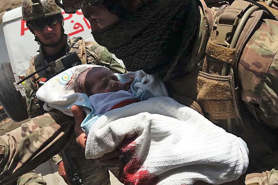 阿富汗一日三襲擊 釀至少四十四死包括產婦新生兒