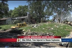 租客剛被趕走 房子離奇爆炸 女驗房師遇難