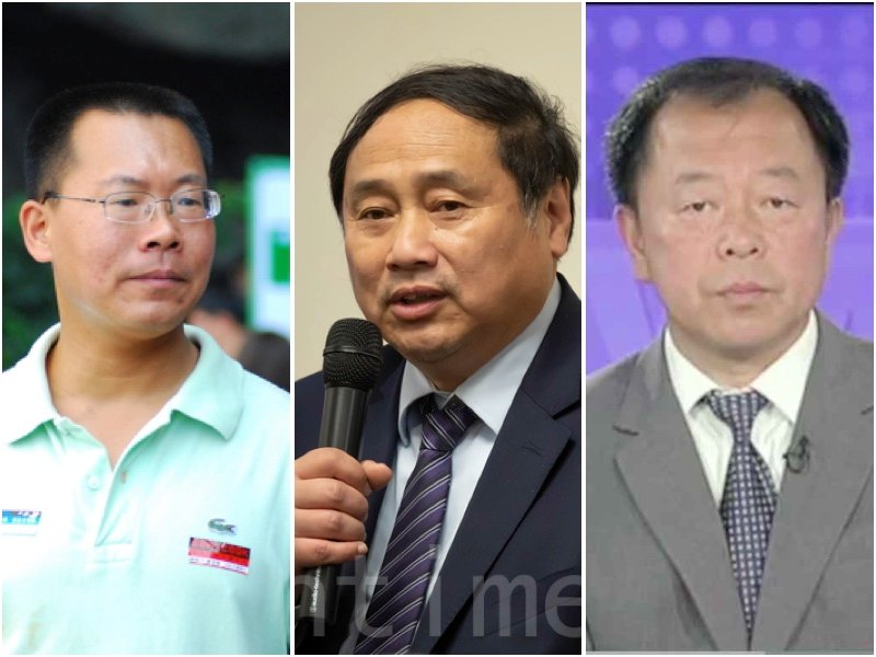 現居美國的三位華裔專家學者解析香港目前的亂局與走勢。(大紀元合成圖)