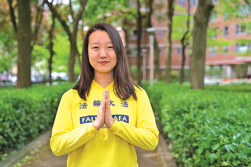 在美國土生土長的Karen Cheng,自幼跟隨父母修煉法輪大法。(宋升樺/大紀元)