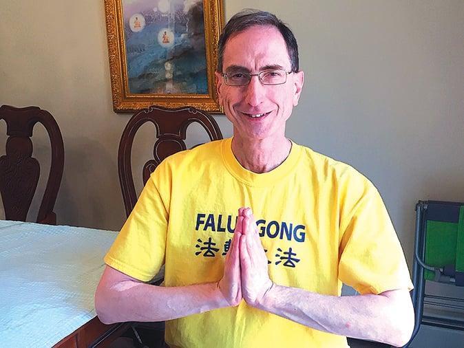 來自美國的John Nania 從1999年開始修煉法輪大法。(本人提供)
