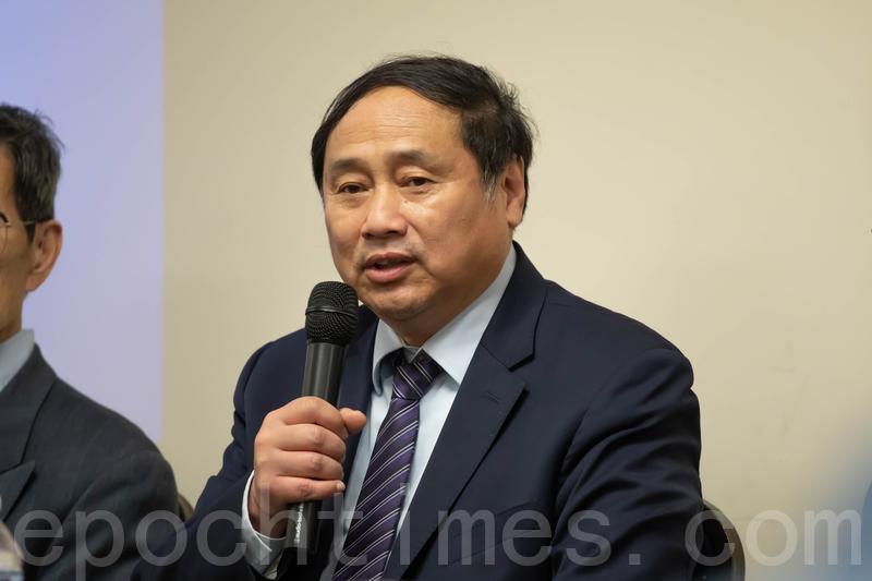 哈佛大學碩士、哥倫比亞大學博士、中國民主黨全國委員會主席王軍濤。圖為大紀元資料圖片。(林樂予/大紀元)