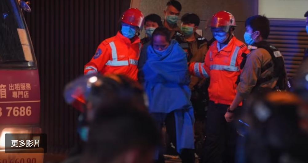 更正:關於娛賓女記者5月10日在洗手間被警察毆打及拘捕的影片新聞