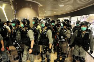 北京折射效應 香港警隊受控北京政法委  4月至今共19警被捕