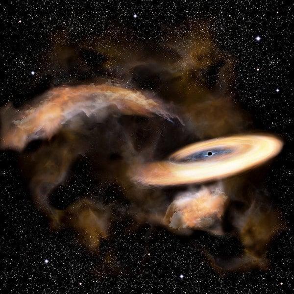 新發現距離地球最近黑洞:僅一千光年