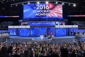 民主黨大會第2天 希拉莉獲總統候選人提名