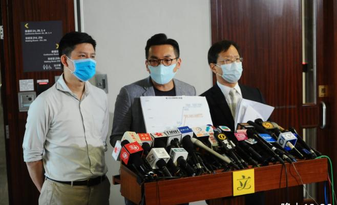 5月15日,警監會報告發表,有民主派議員表示,報告片面之詞扭曲香港過去半年,呼籲改革監警會。(宋碧龍/大紀元)