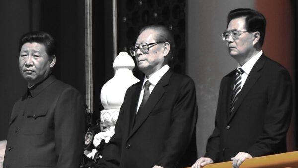 胡錦濤兩次談及「不折騰」分別是其第二屆任期的第二年與十八大換屆前一年。( KENA BETANCUR,GREG BAKER/AFP/Getty Images)